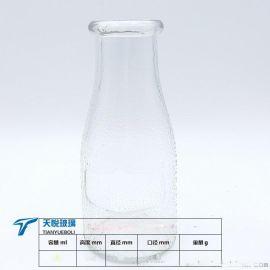 玻璃瓶厂麻点酸奶瓶面向全国销售
