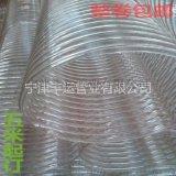 耐高温塑料钢丝管透明塑料软管内夹钢丝软管