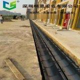 環保排水溝廠家 高強度HDPE下水道 耐腐蝕塑料環保排水溝 不鏽鋼蓋板