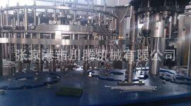全自动三合一灌装机 玻璃瓶灌装机