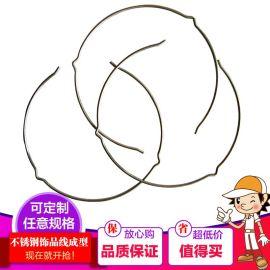 东莞厂家专业定做5.0铁线成型 五金铁线成型折弯 异形弹簧批发零售