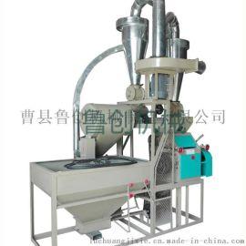 贵州全自动对辊磨面机【鲁创】家用小型小麦面粉机