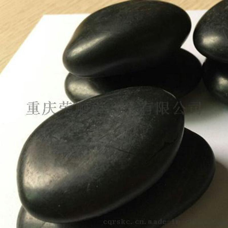 5-8公分黑色鹅卵石_3-5公分全新黑色鹅卵石!