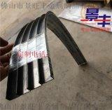 供應定製不鏽鋼U型槽 玫瑰金弧形包邊條 不鏽鋼圓弧形線條