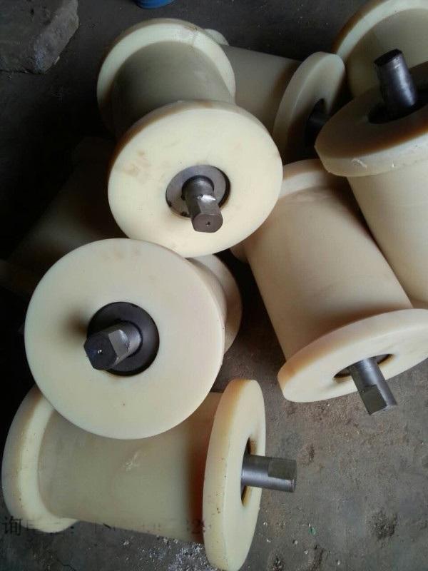 聚氨酯尼龙地辊耐磨耐用阻燃防静电矿用保护钢丝绳