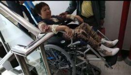电动爬楼车楼梯手推车石家庄市长安区残疾人专用爬楼车
