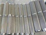 双节折叠滤芯、不锈钢烧结网滤芯滤器、药液 药剂 油料 化学溶剂滤芯