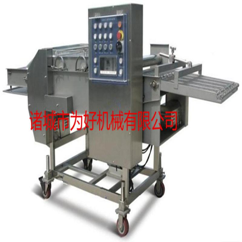 无骨鸡柳上浆机不锈钢生产定制
