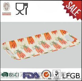 宏冠精品密胺餐具定做批发|美耐皿长方托盘|快餐盘|收纳盘西餐盘