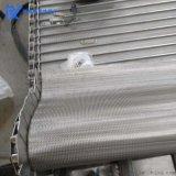 雙人字形網帶金屬不鏽鋼耐高溫輸送帶(可定製)