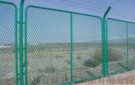 高速公路隔离栅-绿色边框隔离网-浸塑钢板网护栏