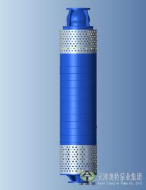 钛矿自平衡潜水泵_280方360米大流量潜水泵