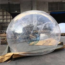 透明空心圓球,聖誕婚慶布景裝飾有機玻璃圓形球