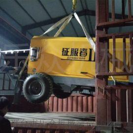 柴油电动小型混凝土输送泵 农村建设细石二次构造柱泵