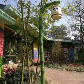 竹子庭院燈,竹子庭院造型路灯,LED竹子庭院燈