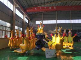 注意的事项郑州航天游乐设备厂家8臂袋鼠跳安全可靠