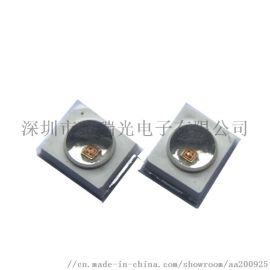 新品LED2835凸头红光灯珠发光角度60度光源