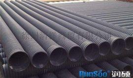 现货供应钢带增强聚乙烯螺旋波纹管