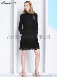 女装尾货市场宝莱国际春夏新款上衣连衣裙