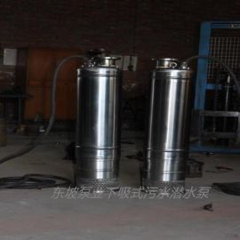 不锈钢小型污水泵-下吸式污水泵