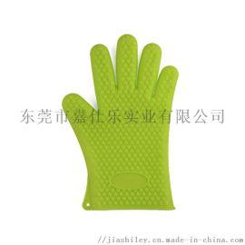 硅胶隔热手套 厨房微波炉防烫双层手套