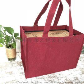 郑州学校广告礼品袋定制 手提帆布包装袋通用包装袋