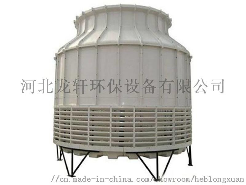 加厚玻璃钢冷却塔 圆形冷却塔厂家直销