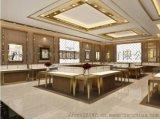 深圳融潤傢俱定做專賣店鈦合金首飾展示櫃廠家製作