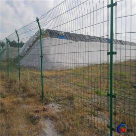厂家直销浸塑护栏网,高速公路护栏网,低碳钢丝护栏网