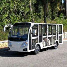 厂家直销专业定制電動觀光車,燃油觀光車