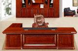 3215款3.2米油漆总裁台 胡桃木皮绿色环保家具