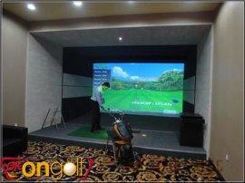 高尔夫模拟器厂家/韩国okon高尔夫公司/室内高尔夫模拟器