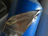一面塗膜加一面鍍鋁膜編織布