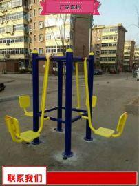 户外健身器材质量好 塑木健身路径厂家