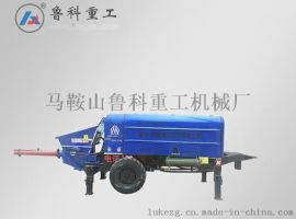 超高压40D型细石混凝土泵简介