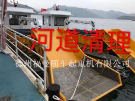 直臂3吨港口吊液压小吊机电机泵站360度全旋转