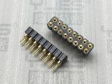 273-2.54mm 圓孔排母連接器 180度