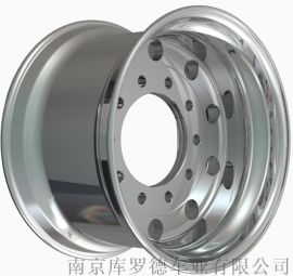 锻造铝合金单胎13卡客车轮毂1139