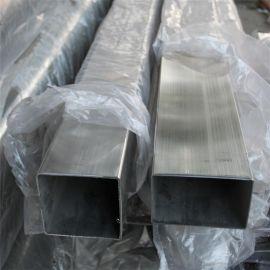 不锈钢制品管, 40*40拉丝方通, 抛光不锈钢管