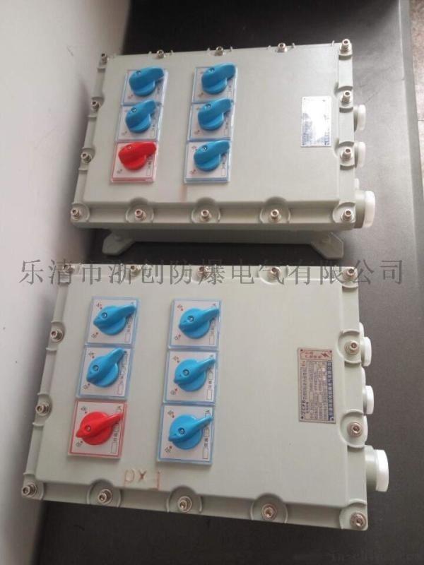 制盐厂防爆控制箱BXK-4K