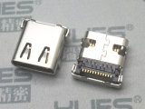 MICRO USB连接器 3.1母座贴片
