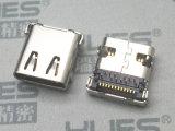 MICRO USB連接器 3.1母座貼片