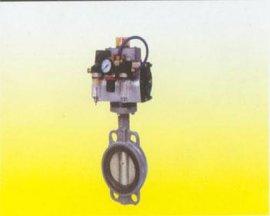 气动对夹蝶阀(D67A1X-10)