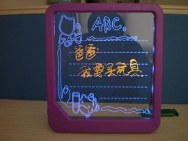 亚克力发光写字板(A6)