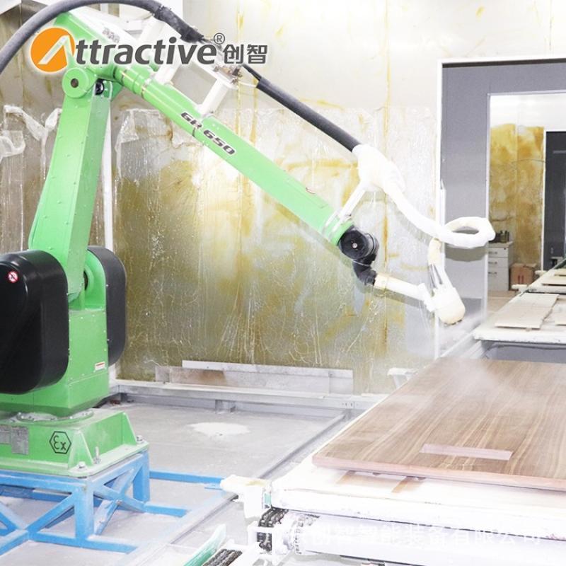 【广东创智】全自动涂装机 烤漆线 工业喷塑流水线