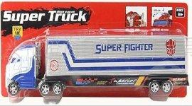 玩具仿真货柜惯性车(带灯光,音乐)(3936-1)