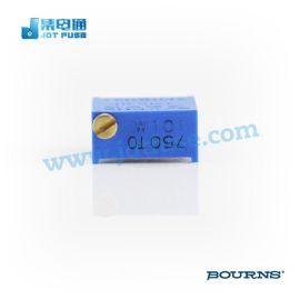 邦士原装现货BOURNS(伯恩斯)微调电位器3296W-1-101LF