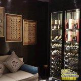 專注不鏽鋼酒櫃定製 酒店會所紅酒架 展示架隔廳櫃