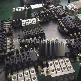 DCV60-4联系列手动电液控多路换向阀
