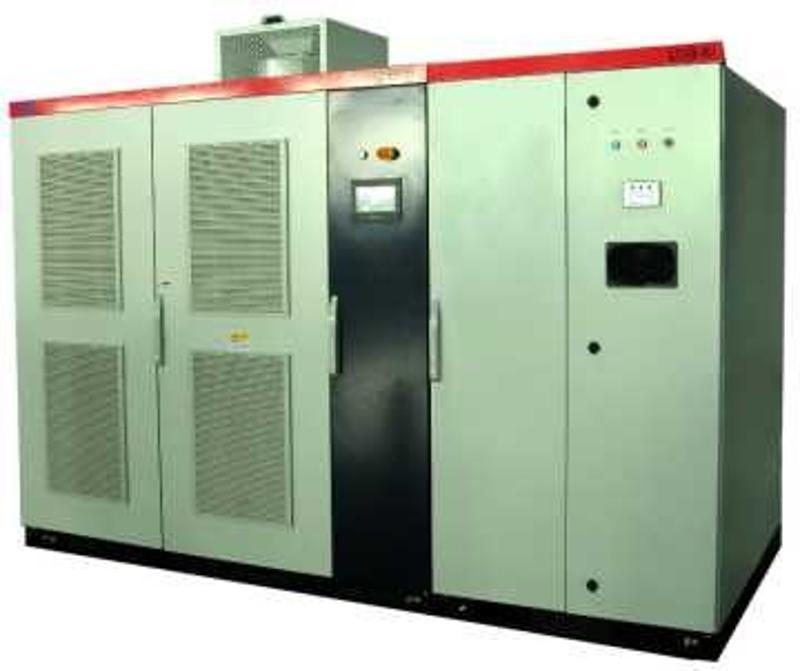高壓變頻器在非同步電機上的應用 採用無感向量控制